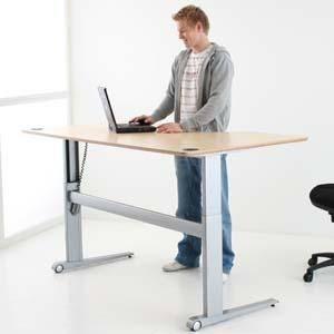 bureau-ergonomique-assis-debout-electrique