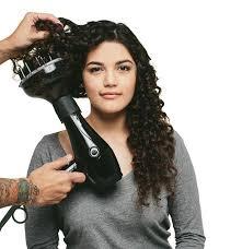 séchoir pour cheveux bouclés