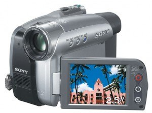 CAMESCOPE-SONY-MINI-DV