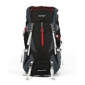 73ced97bcb Le sac de randonnée Outad est un modèle étanche qui se décline en noir,  bleu, vert et rouge. Il est doté d'une couverture imperméable ajoutant une  ...