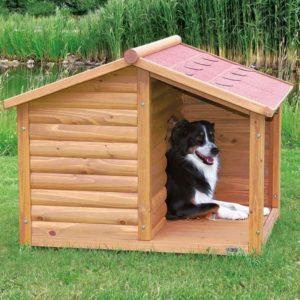 En plus de présenter un design très chic qui se fond parfaitement dans le  décor naturel de votre cour, les habitats pour chien en bois offrent un bien  ... 515d6b0ddb4c