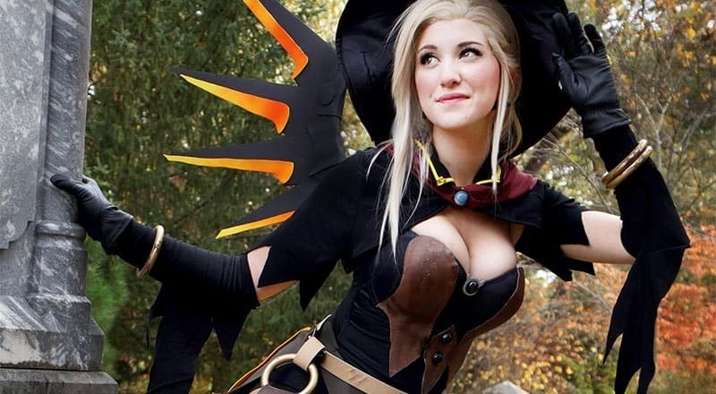 cosplay sorcière sexy pour halloween