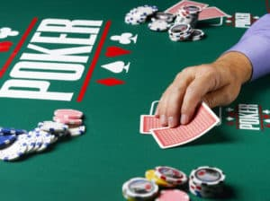 table de jeu de poker