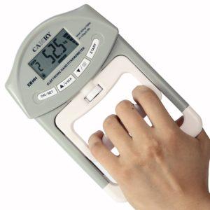 persone avec dynamomètre