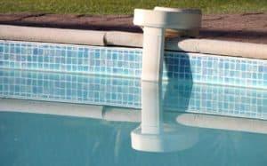 alarme de piscine blanche