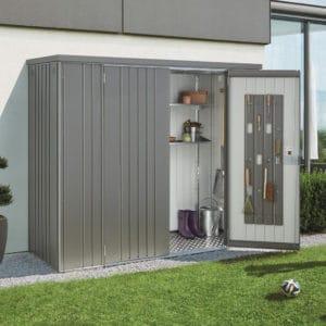 armoire de jardin en metal