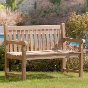 banc de jardin comfortable