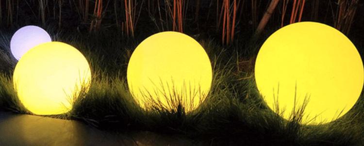 lampes solaires brillantes