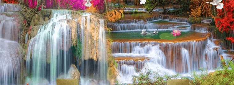 cascade intérieur