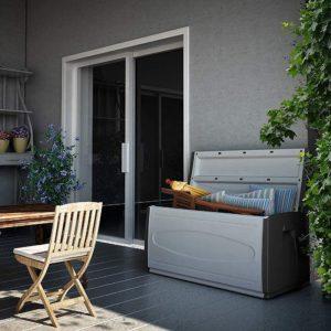 boîte de rangement extérieur à la Terrace