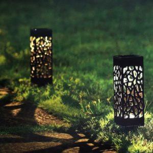 lampes solaires de jardin