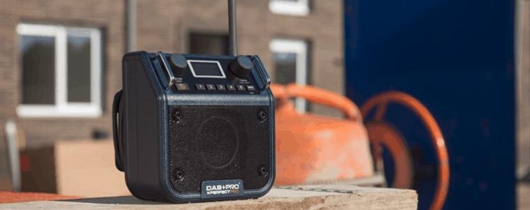 radio de chantier petite