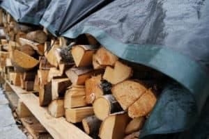 bâche de protection pour bois