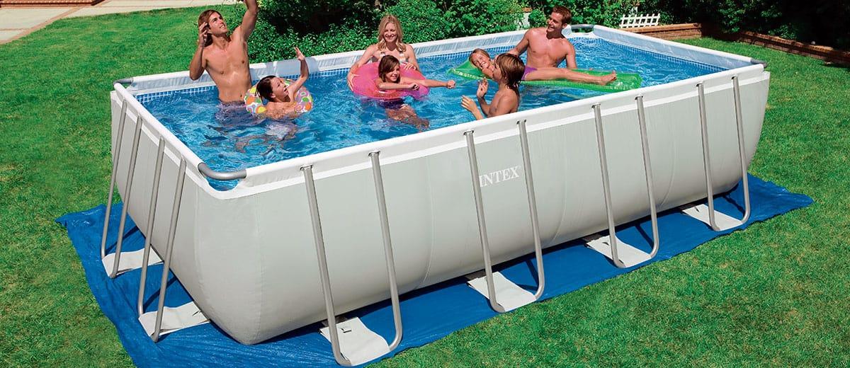 piscine autoportée intex longe