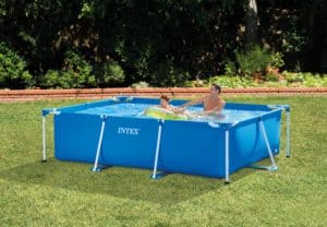 piscine autoportée carée