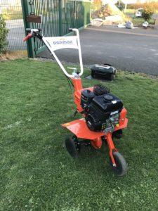 motobineuse orange