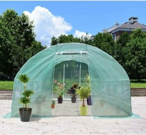 serre de jardin ronde