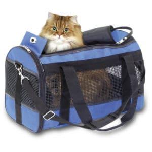 transport pour chat en toile