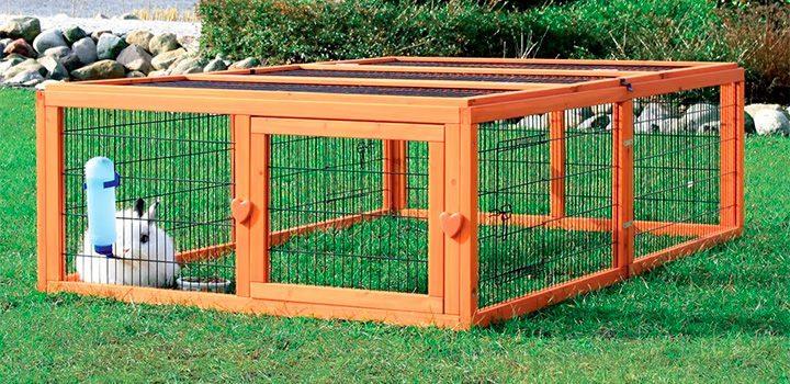 cage de lapin pour extérieur