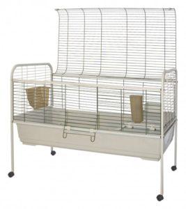 cage de lapin à roulettes