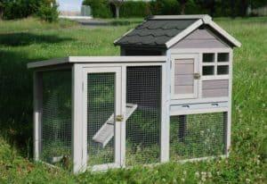 cage de lapin en bois