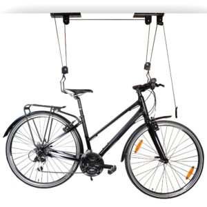 porte-vélo mural colgant
