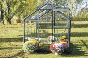 serre de jardin en aluminum