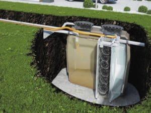 pompe de relevage sous terrain